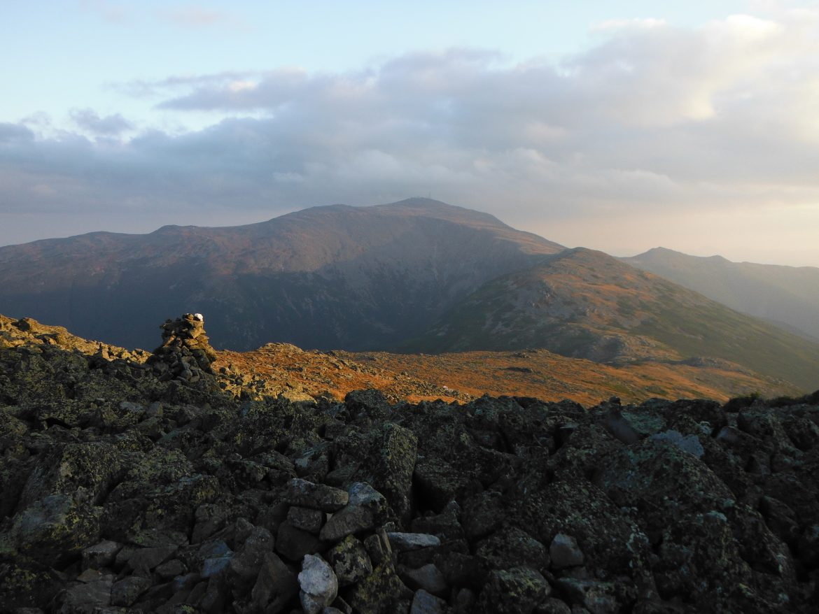 Jewell Trail Mt Washington Map.How To Do A 1 Or 2 Day Presidential Traverse In New Hampshire